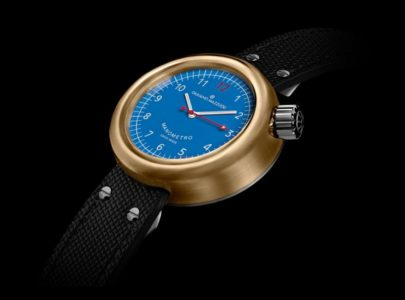 GIULIANO MAZZUOLI MANOMETRO BRONZE BLUE