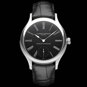 LAURENT FERRIER CLASSIC TOURBILLON – ONYX WITH WHITE PAINTED DIAL LCF001.02.G1.N01