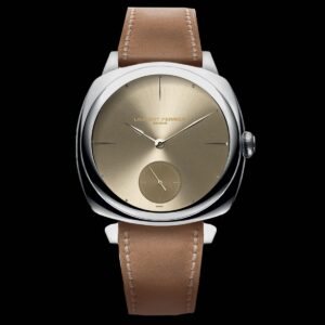 LAURENT FERRIER SQUARE MICRO ROTOR – GOLD TONE DIAL – REF LCF013.AC.JG1