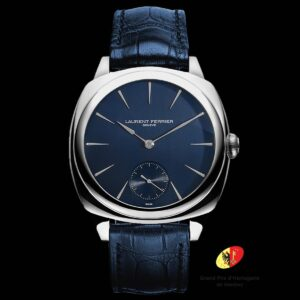 LAURENT FERRIER SQUARE MICRO ROTOR – NAVY BLUE DIAL – REF LCF013.AC.CG2